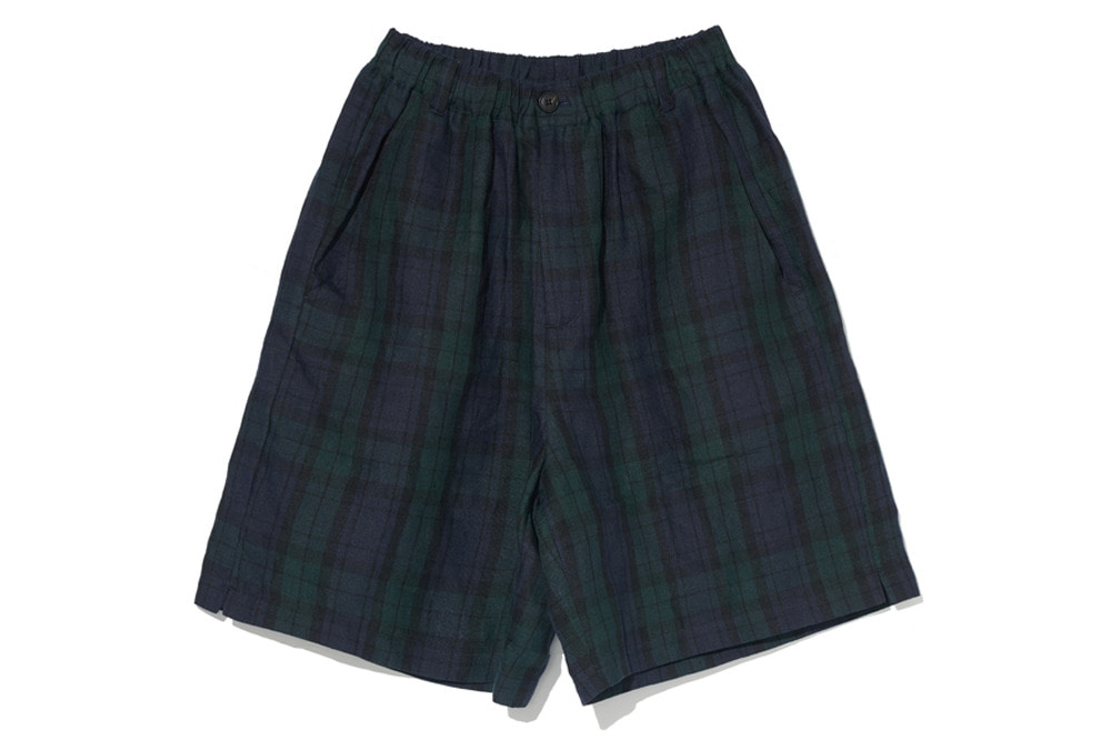 Black Watch Easy Shorts(Check)