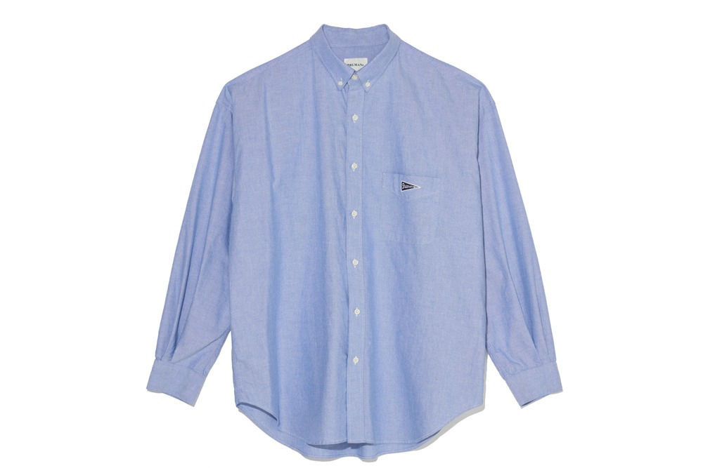Pennant Oxford Shirt (Blue)