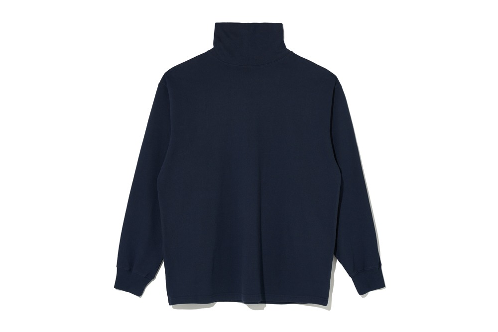 Turtle Neck T- Shirt(Navy)